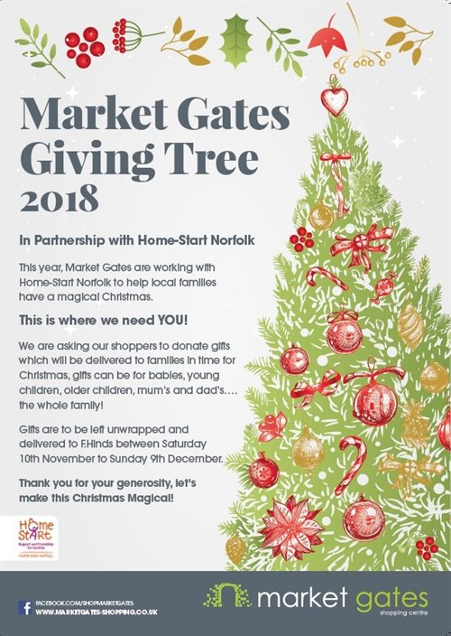 Market Gates Giving Tree Market Gates Shopping Centre