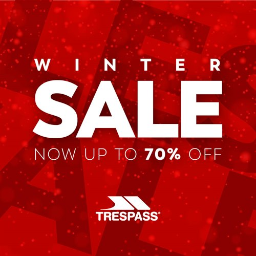 Store wide savings at Trespass